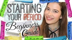 Starting Your Period: A Beginners Guide!!!