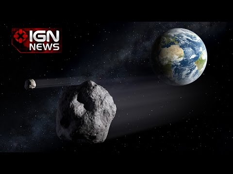 NASA Footage Shows Near Miss Asteroid Has a Moon - IGN News