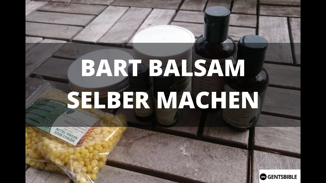 bart balsam beard balm selber machen die komplette anleitung youtube. Black Bedroom Furniture Sets. Home Design Ideas