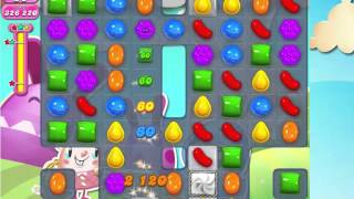 Candy Crush Saga Level 1583 with 4 moves left,  NO BOOSTERS!