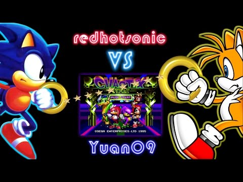 Knuckles Chaotix & Sonic Crackers - Yuan09 Vs Redhotsonic