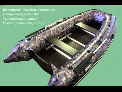 Килевые надувные лодки Колибри - YouTube