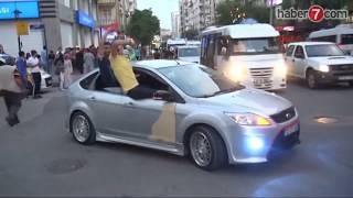 Diyarbakırda Hdp'lilerden kutlama