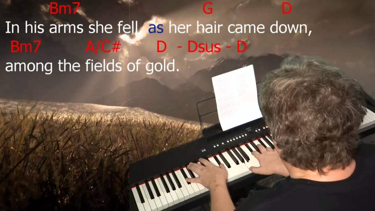 Learn To Play Fields Of Gold Key D Major