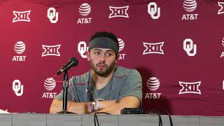 Baker Mayfield Ohio State postgame presser thumbnail