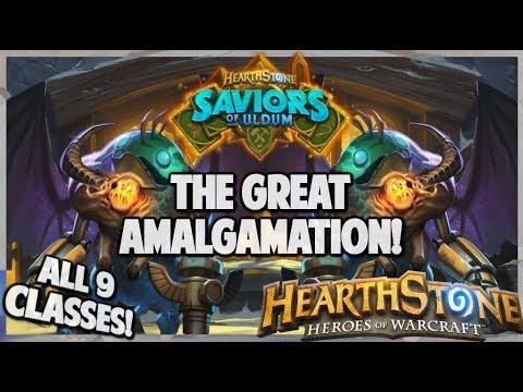 Hearthstone   The Great Amalgamation!   Deck Builders Brawl   Saviors Of Uldum