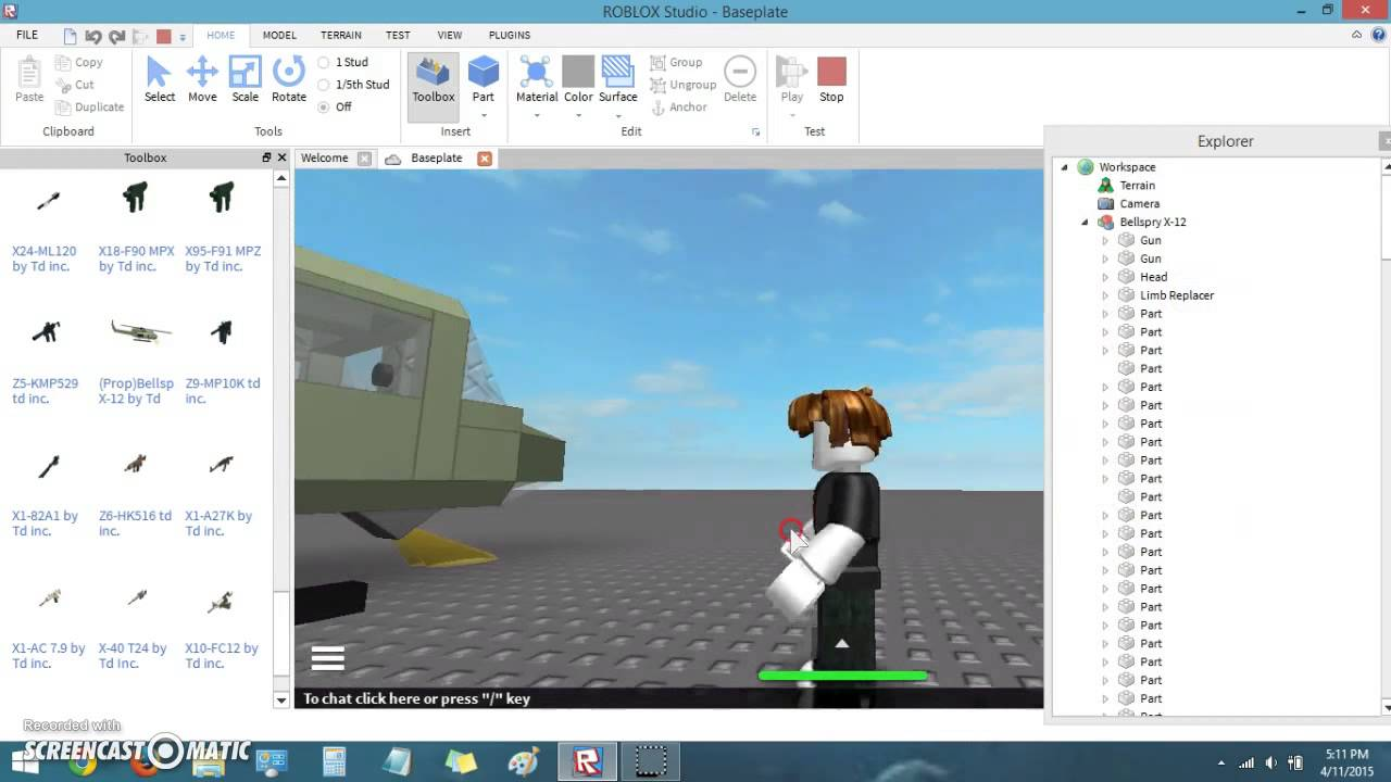 Roblox Tutorial How To Open Explorer Youtube
