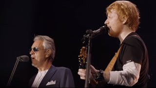 Perfect symphony -  Ed Sheeran ft Andrea Bocelli live at Wembley stadium