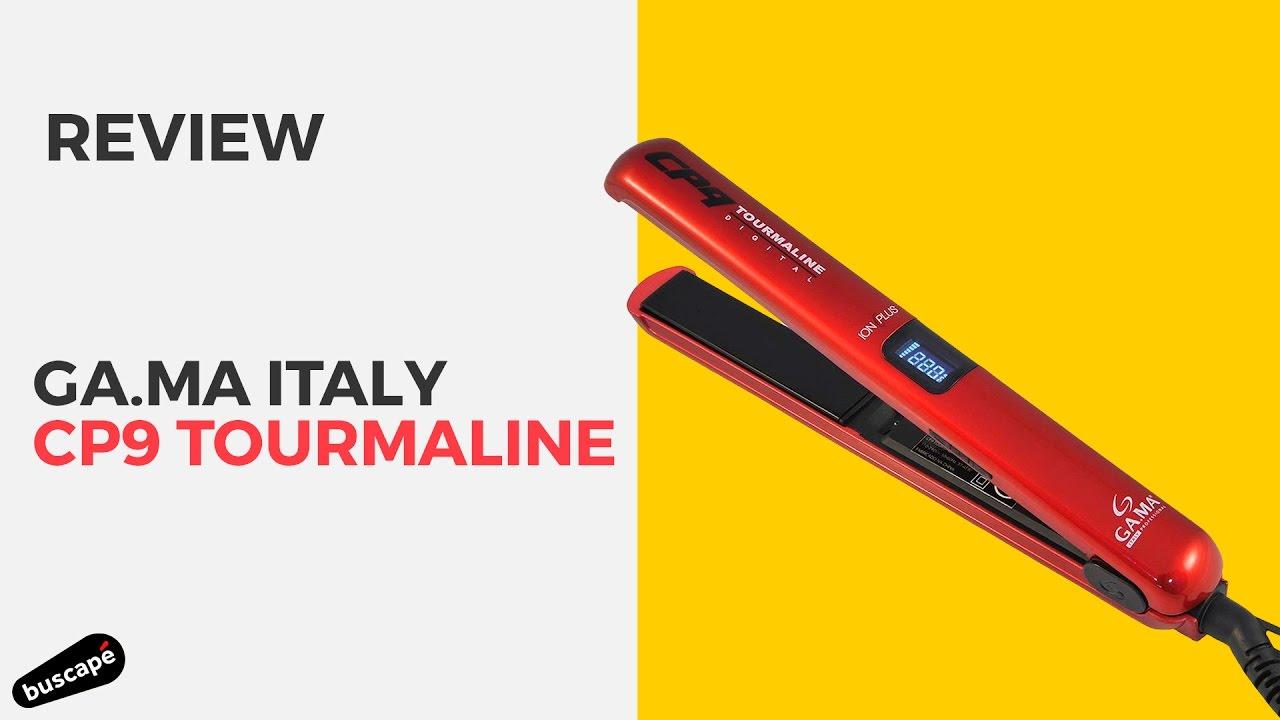 4f702769f Ga.ma Italy CP9 Tourmaline é uma chapinha para uso doméstico [Review].  Buscapé