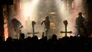 WATAIN - LEGIONS OF THE BLACK LIGHT live in Athens , 2014