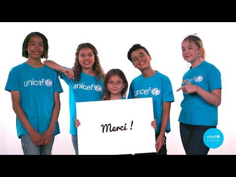 Kids United Nouvelle Génération x UNICEF : MERCI ❤️