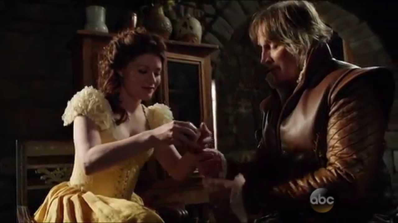 once upon a time 4x21 4x22 rumple and belle the