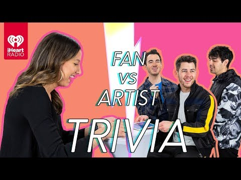 The Jonas Brothers Go Head to Head With Their Biggest Fan  Fan Vs Artist Trivia