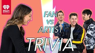 The Jonas Brothers Go Head to Head With Their Biggest Fan | Fan Vs Artist Trivia