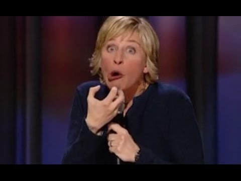 Ellen Degeneres Stand Up - Stand Up COmedy - Best Stand up comedy