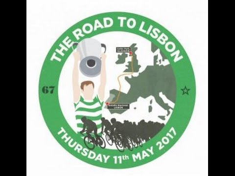 """Celtic Fans """"Road To Lisbon"""" Charity Cycle."""