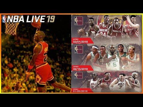 NBA LIVE 19: LEGEND TEAMS & LEGEND POOL COMING ?!?!?!?!?