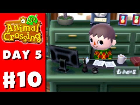 Animal Crossing: New Leaf - Part 10 - 50% Approval (Nintendo 3DS Gameplay Walkthrough Day 5)