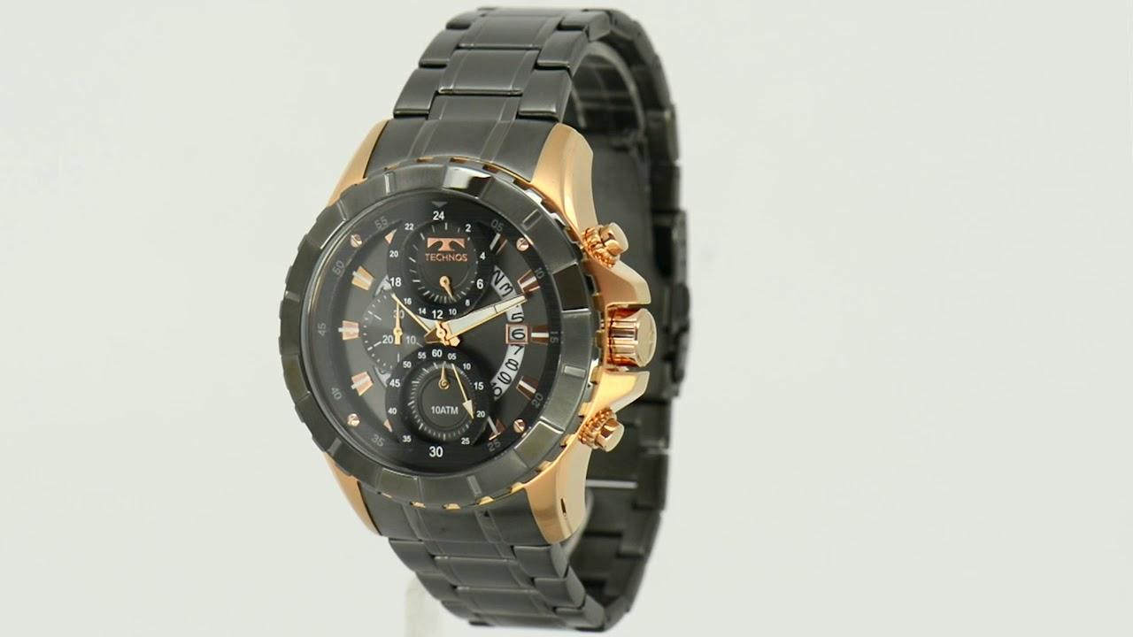 Relógio Technos Masculino Legacy JS15EL 4C - Eclock - YouTube ef03e0ef37