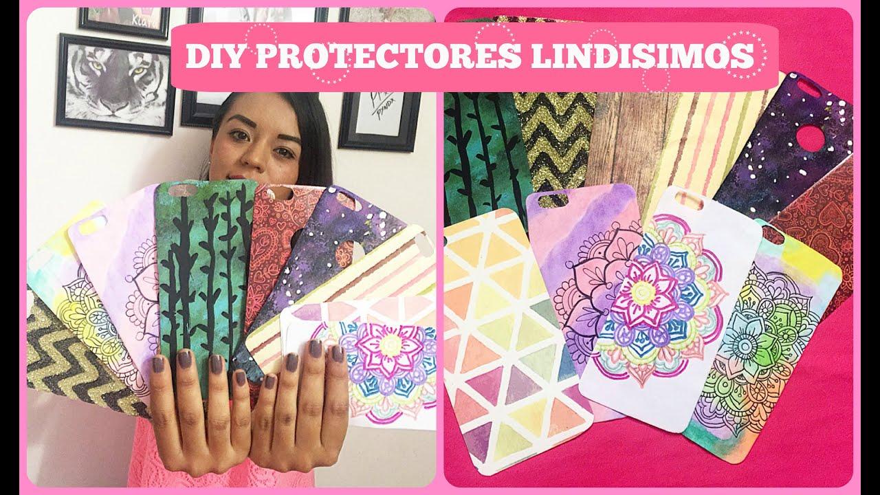 Diy haz tus protectores super lindos mandalas galaxia y for Protectores 3d para celular