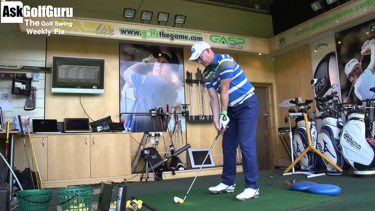 how to fix golf swing