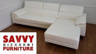 Ashley White Tindell Sectional Sofa