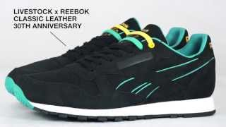 REEBOK CL LTHR LUX X LIVESTOCK