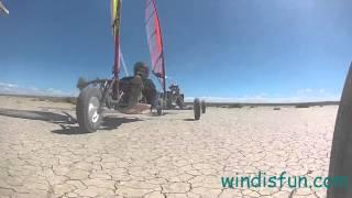 Landsailing Wyoming 2014