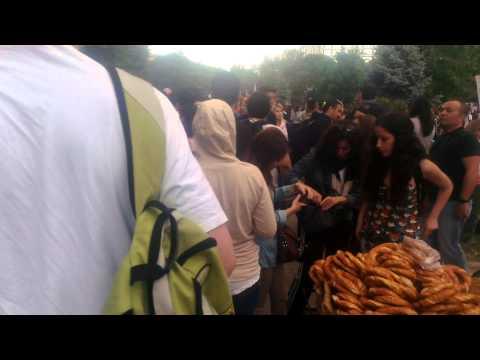 Gezi Park occupation on 2nd June 2013