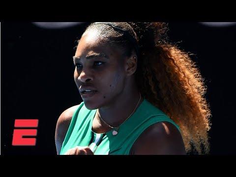 Serena Williams advances to fourth round in straight sets  2019 Australian Open