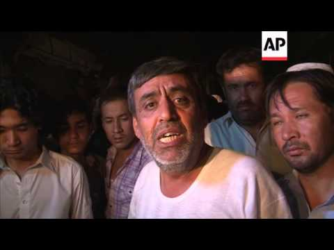 Aftermath as dozens killed in twin blasts near Shiite Muslim mosque