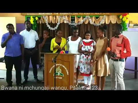 Bwana Ni Mchungaji wangu - Psalms 123