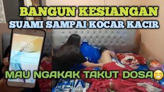 Download lagu PRANK SUAMI BILANG BANGUN KESIANGAN - TELAT PERGI KERJA PADAHAL MASIH SORE