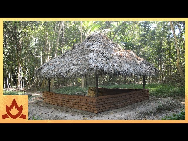 Primitive Technology: Adobe wall (dry stacked)