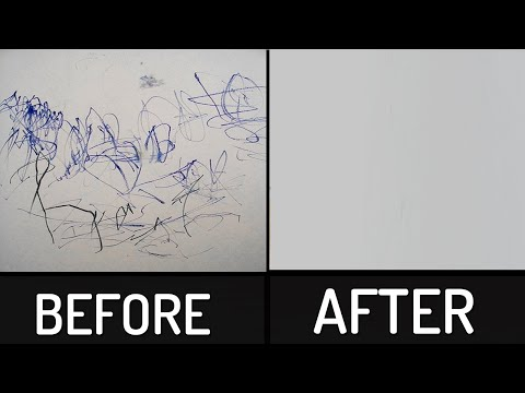 How to Remove Permanent Marker from any Surface   At Home