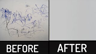 How to Remove Permanent Marker from any Surface | At Home