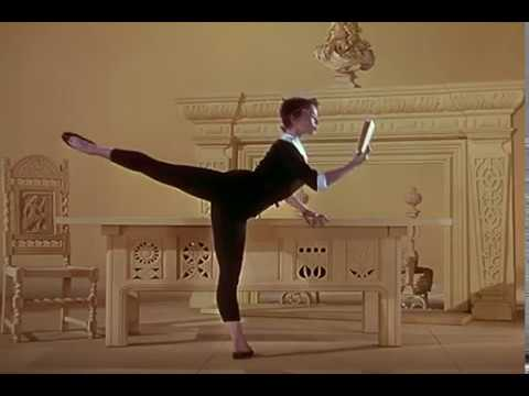 leslie caron  dancing  an american in paris 1951