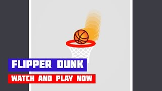 Flipper Dunk · Game · Gameplay