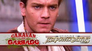 Star Wars Jedi Power Battles  (PS1) - Caravan Of Garbage