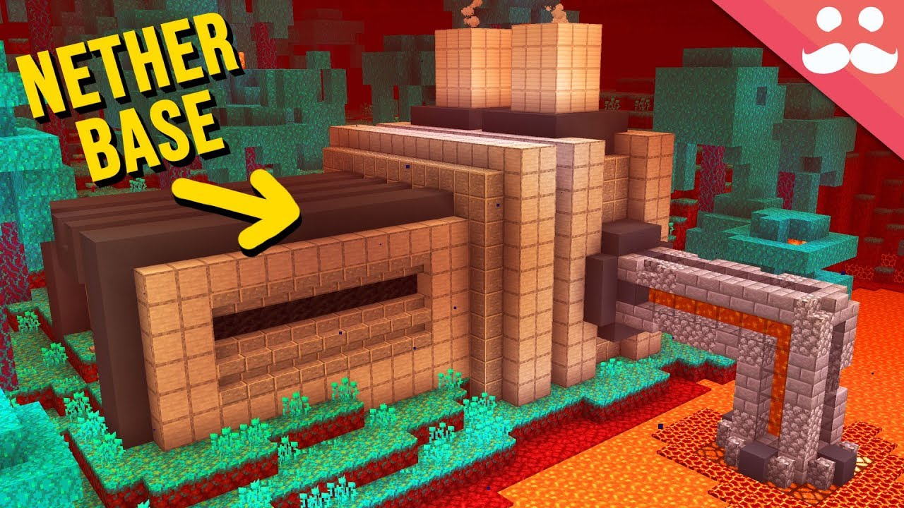 Making a Nether Base in Minecraft 1.16 thumbnail
