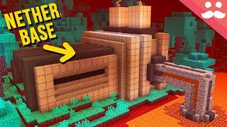 Making a Nether Base in Minecraft 1.16