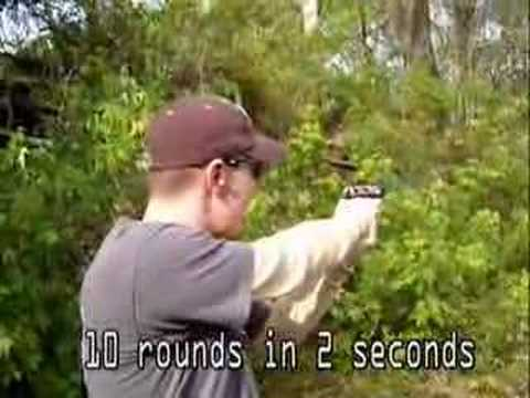 Walther P22 10 Rounds in 2 seconds