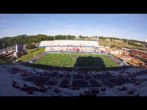2014 LA Tech Football Red Out Time-Lapse