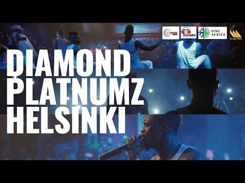 Diamond Platnumz Event at Teatteri Forum (Helsinki)