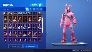 *200 Sub-Special* - Showcasing My Expensive Fortnite Account (Rare OG Skins)
