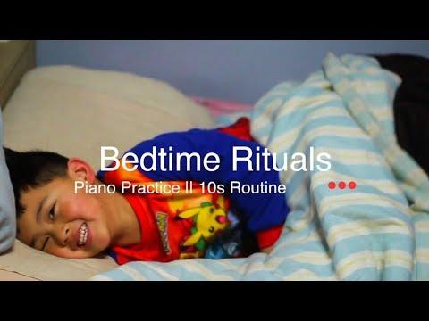 My Bedtime Rituals!