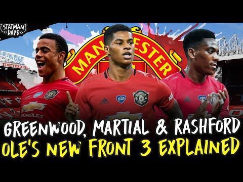 Greenwood, Martial & Rashford: Manchester United's NEW Front 3 | Tactics...