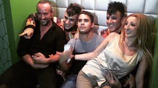 José Fernando de fiesta por Madrid con Michu