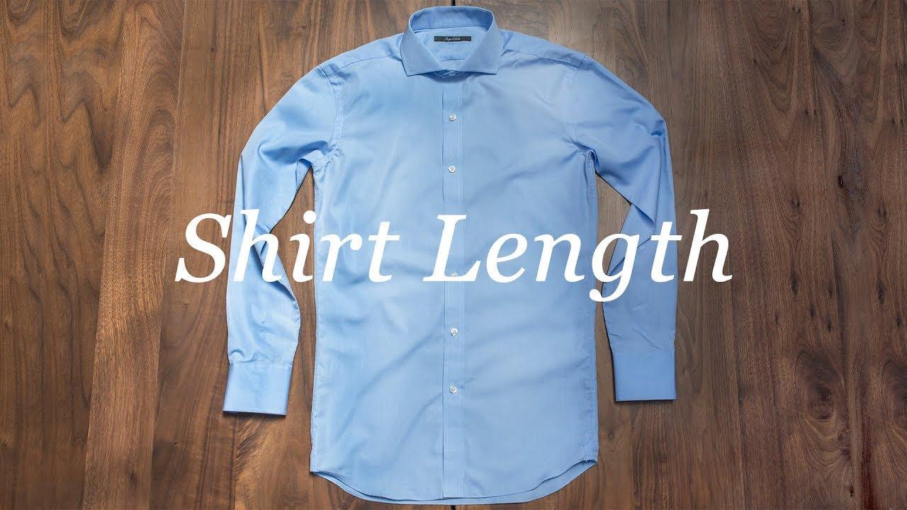 d3e9f9e6be8 How To Measure Your Shirt  Shirt Length. Proper Cloth