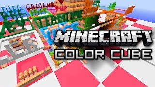 Minecraft: Color Cube - Snapshot Mini Game w/ Friends